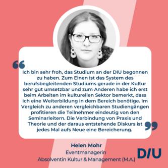 Studium Dresden Kultur und Management Master