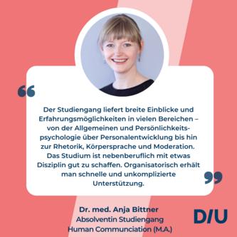 Kommunicationspsychologie studieren DIU Dresden